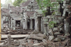 We also went to the 'tomb raider' temple which was just as amazing.
